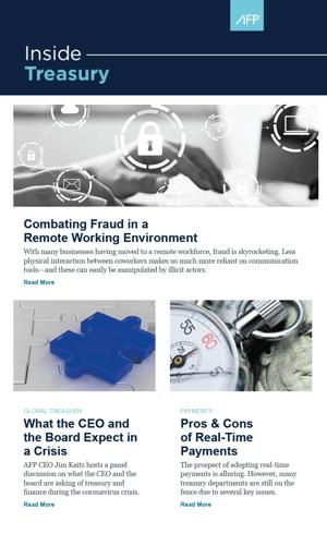 Inside Treasury Newsletter Thumbnail